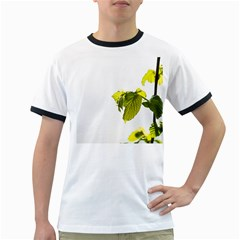 Leaves Nature Ringer T Shirts