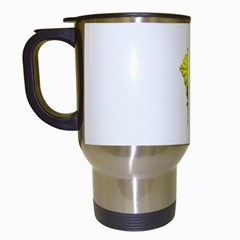 Leaves Nature Travel Mugs (White)