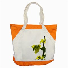Leaves Nature Accent Tote Bag