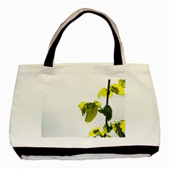 Leaves Nature Basic Tote Bag (Two Sides)