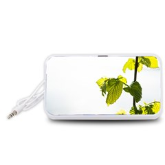 Leaves Nature Portable Speaker (White)