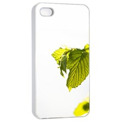 Leaves Nature Apple Iphone 4/4s Seamless Case (white)