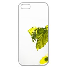 Leaves Nature Apple Seamless Iphone 5 Case (clear)