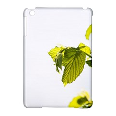 Leaves Nature Apple Ipad Mini Hardshell Case (compatible With Smart Cover)