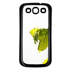 Leaves Nature Samsung Galaxy S3 Back Case (black)