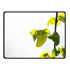 Leaves Nature Double Sided Fleece Blanket (small)