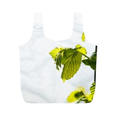 Leaves Nature Full Print Recycle Bags (M)