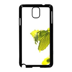 Leaves Nature Samsung Galaxy Note 3 Neo Hardshell Case (black)