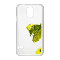 Leaves Nature Samsung Galaxy S5 Case (white)