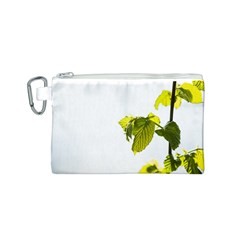 Leaves Nature Canvas Cosmetic Bag (S)