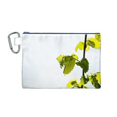 Leaves Nature Canvas Cosmetic Bag (m)