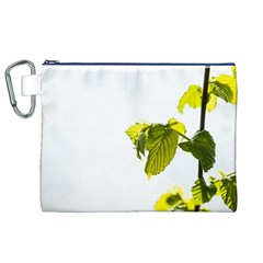 Leaves Nature Canvas Cosmetic Bag (xl)