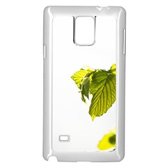 Leaves Nature Samsung Galaxy Note 4 Case (white)