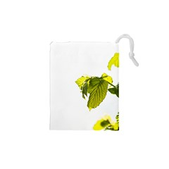 Leaves Nature Drawstring Pouches (xs)