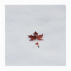 Winter Maple Minimalist Simple Medium Glasses Cloth