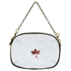 Winter Maple Minimalist Simple Chain Purses (Two Sides)