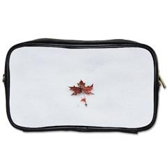 Winter Maple Minimalist Simple Toiletries Bags
