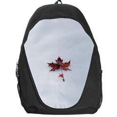 Winter Maple Minimalist Simple Backpack Bag