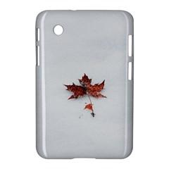 Winter Maple Minimalist Simple Samsung Galaxy Tab 2 (7 ) P3100 Hardshell Case