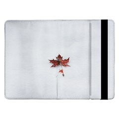 Winter Maple Minimalist Simple Samsung Galaxy Tab Pro 12 2  Flip Case