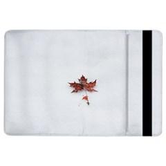 Winter Maple Minimalist Simple Ipad Air 2 Flip