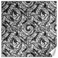 Gray Scale Pattern Tile Design Canvas 12  x 12