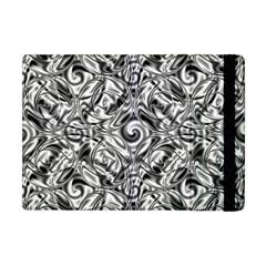 Gray Scale Pattern Tile Design Apple Ipad Mini Flip Case