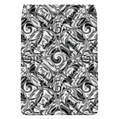 Gray Scale Pattern Tile Design Flap Covers (s)