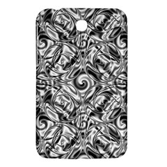 Gray Scale Pattern Tile Design Samsung Galaxy Tab 3 (7 ) P3200 Hardshell Case