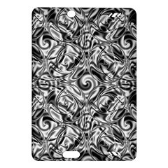 Gray Scale Pattern Tile Design Amazon Kindle Fire Hd (2013) Hardshell Case
