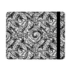 Gray Scale Pattern Tile Design Samsung Galaxy Tab Pro 8 4  Flip Case