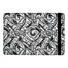 Gray Scale Pattern Tile Design Samsung Galaxy Tab Pro 10 1  Flip Case