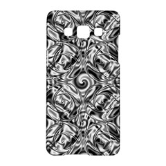 Gray Scale Pattern Tile Design Samsung Galaxy A5 Hardshell Case