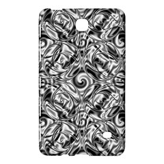 Gray Scale Pattern Tile Design Samsung Galaxy Tab 4 (7 ) Hardshell Case