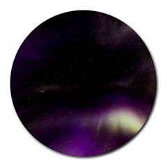 The Northern Lights Nature Round Mousepads