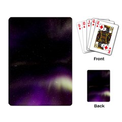 The Northern Lights Nature Playing Card