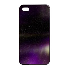 The Northern Lights Nature Apple Iphone 4/4s Seamless Case (black)