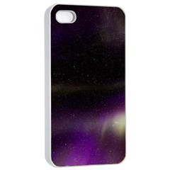 The Northern Lights Nature Apple Iphone 4/4s Seamless Case (white)