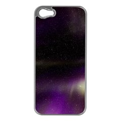 The Northern Lights Nature Apple Iphone 5 Case (silver)