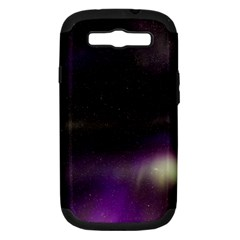 The Northern Lights Nature Samsung Galaxy S III Hardshell Case (PC+Silicone)