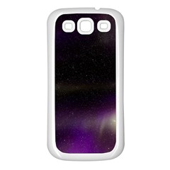 The Northern Lights Nature Samsung Galaxy S3 Back Case (white)