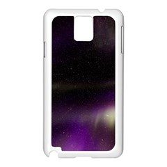 The Northern Lights Nature Samsung Galaxy Note 3 N9005 Case (white)