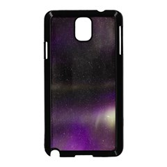 The Northern Lights Nature Samsung Galaxy Note 3 Neo Hardshell Case (black)