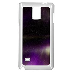 The Northern Lights Nature Samsung Galaxy Note 4 Case (white)