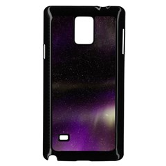 The Northern Lights Nature Samsung Galaxy Note 4 Case (black)