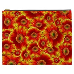 Gerbera Flowers Nature Plant Cosmetic Bag (xxxl)