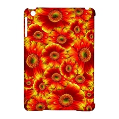 Gerbera Flowers Nature Plant Apple Ipad Mini Hardshell Case (compatible With Smart Cover)