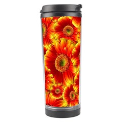 Gerbera Flowers Nature Plant Travel Tumbler