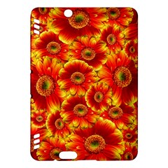 Gerbera Flowers Nature Plant Kindle Fire Hdx Hardshell Case