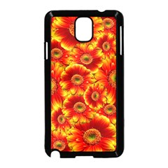Gerbera Flowers Nature Plant Samsung Galaxy Note 3 Neo Hardshell Case (black)